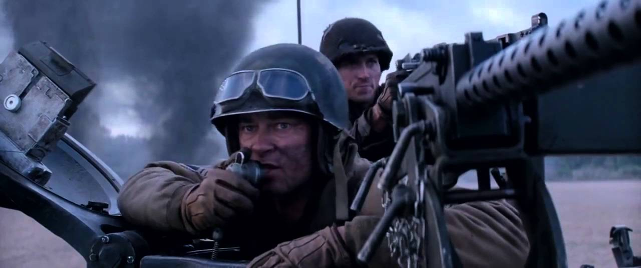 Images Of The Movie Fury: FURY First Battle Scene
