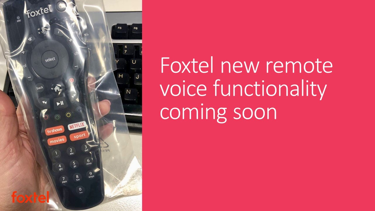 Foxtel New Remote Voice Functionality Coming Soon