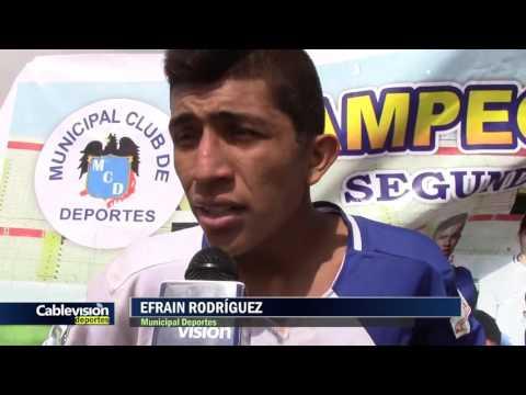 MUNICIPAL DEPORTES 2 - 0 LOS POETAS :::15/10/16