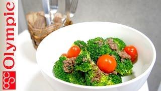 オリンピックの超簡単レシピ ブロッコリーのアンチョビソースの作り方