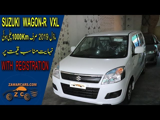 suzuki wagon vxl  2019 first hand used just 1k km used for sale