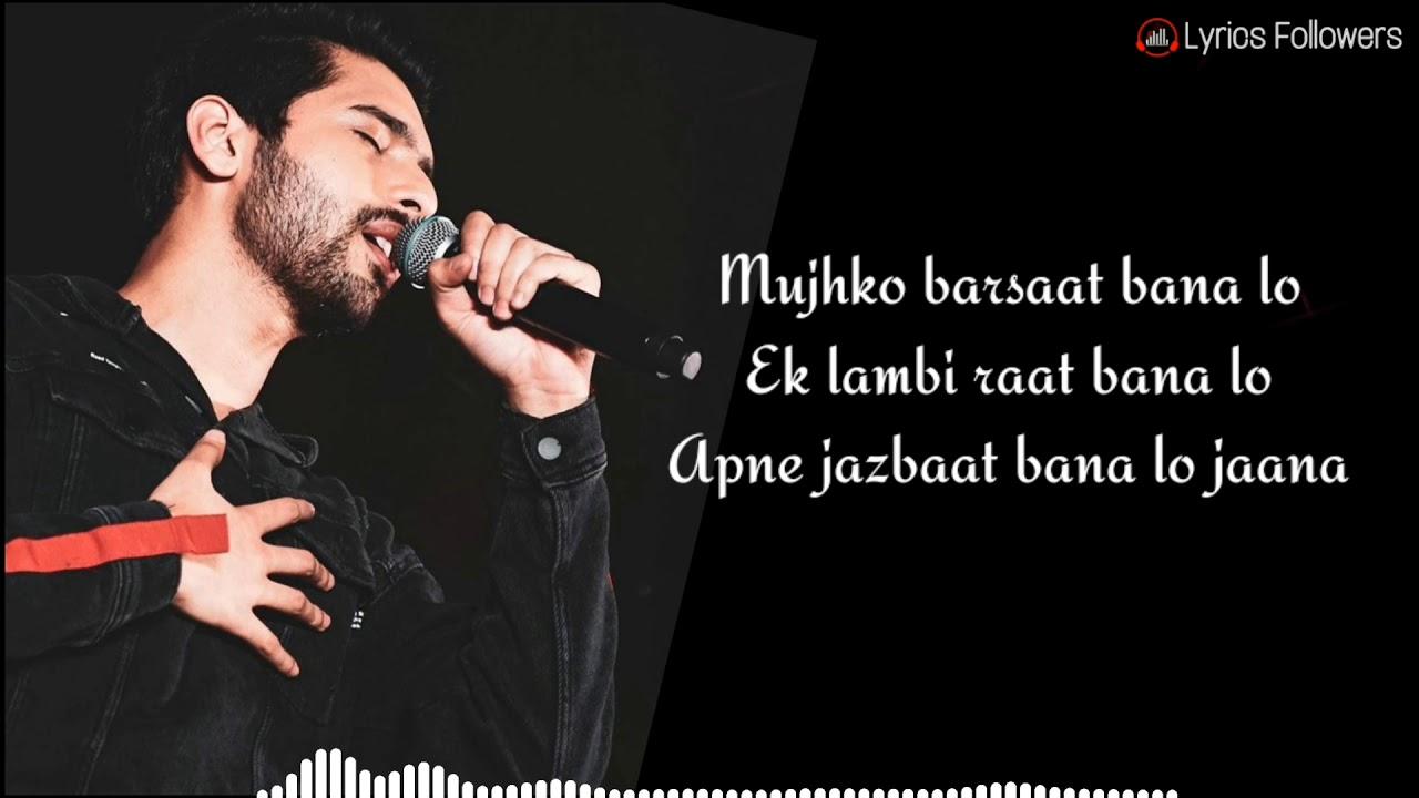 Download Mujhko Barsaat Bana Lo(lyrics) | Junooniyat | Armaan Malik |  Rashmi Virag | Yami Gautam |  Pulkit