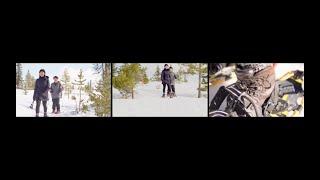 Snowshoeing | Generative Video Editor | 3 Screens