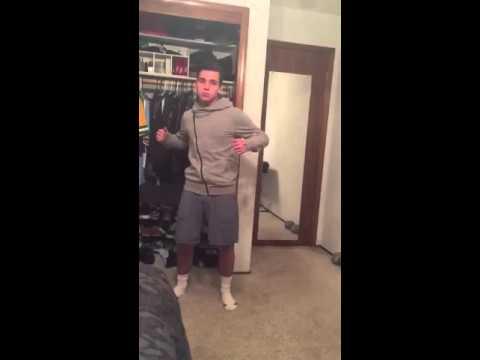Samuel Lovato dancing to 'Slow Motion'
