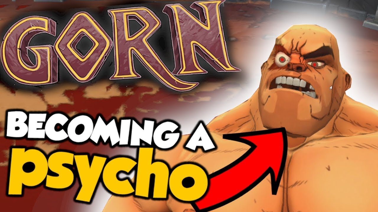 BECOMING A PSYCHO - Gorn (VR) Funny Moments