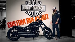 CUSTOM BREAKOUT: Black Beauty - Harley-Davidson Hamburg Nord