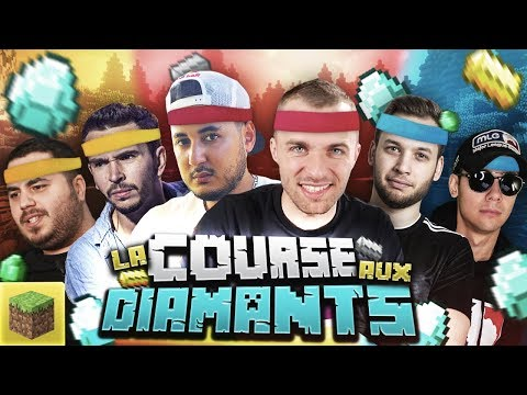 LA COURSE AUX DIAMANTS !  (Minecraft ft. Gotaga, Locklear, Doigby, Domingo, Mickalow)