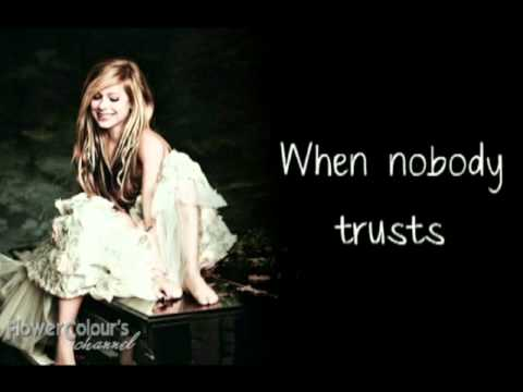 Avril Lavigne - DARLIN with LYRICS