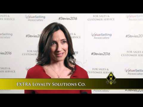EXTRA Loyalty Solutions Co. wins in the 2016 Stevie Awards for Sales & Customer Service