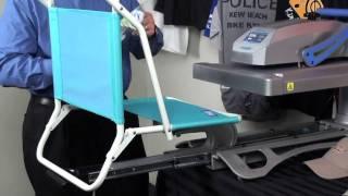 1 minute video - Nylon cordura beach chair