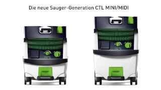 Festool CTL MINI/MIDI
