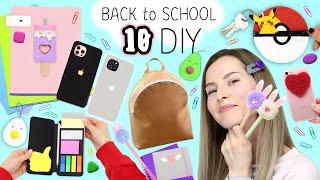 10 Amazing Diy & School Supplies - Back to school 2021