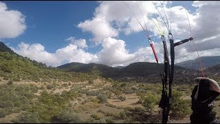 Paragliding Low Save. 5 meters over ground! Skywalk chili4