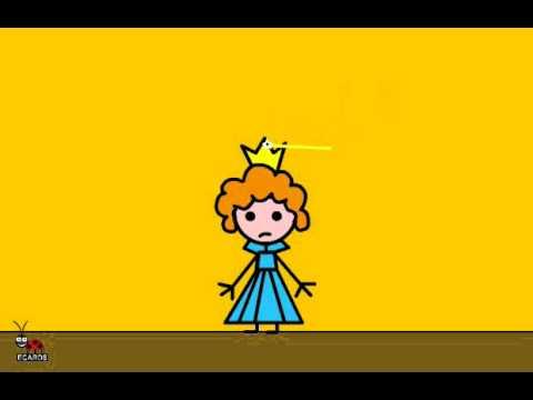 Funny Halloween Cinderella Animated Free Greeting E-cards