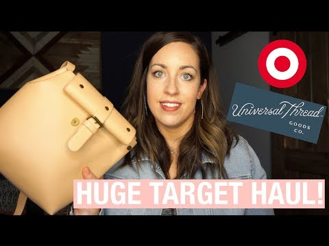 HUGE Target + Universal Thread Try-On Haul: Jeans, Tops, Jewelry and Purses