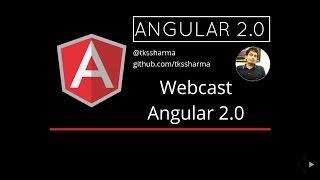 Screencast for Understanding Angular 2.0