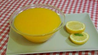 Cómo hacer crema de limón para rellenar tartas y pasteles
