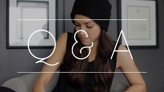 My first Q & A? // Here we go...