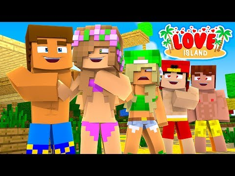 LITTLE KELLY & DONNY ARE DATING AGAIN BUT THE NEW GIRL HAS AN EVIL PLAN - Minecraft LOVE ISLAND!