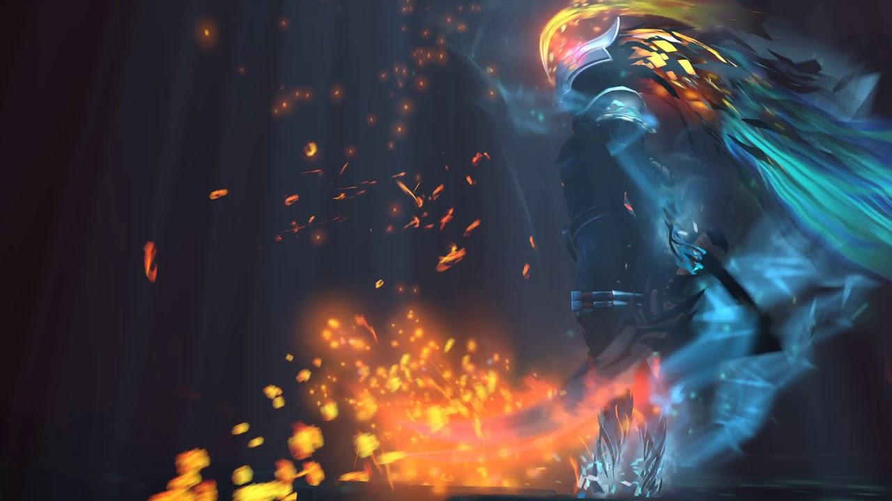 Dota 2 Phantom Assassin Game Live Wallpaper Youtube