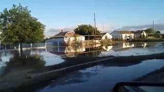 Наводнение Крым, Джанкойский район, Кондратьево. 4 июня 2016 год(Потоп в поселке Кондратьево, затопило дома., 2016-06-04T20:46:13.000Z)