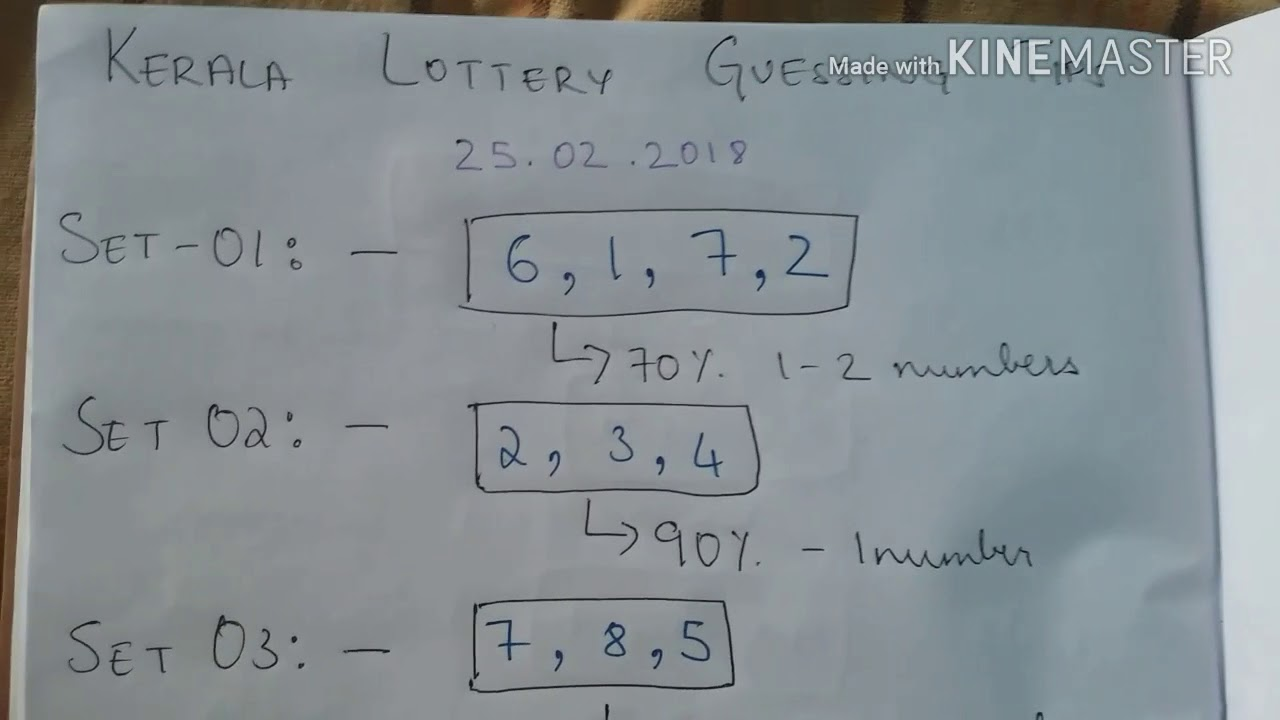 Kerala lottery winning tips tamil