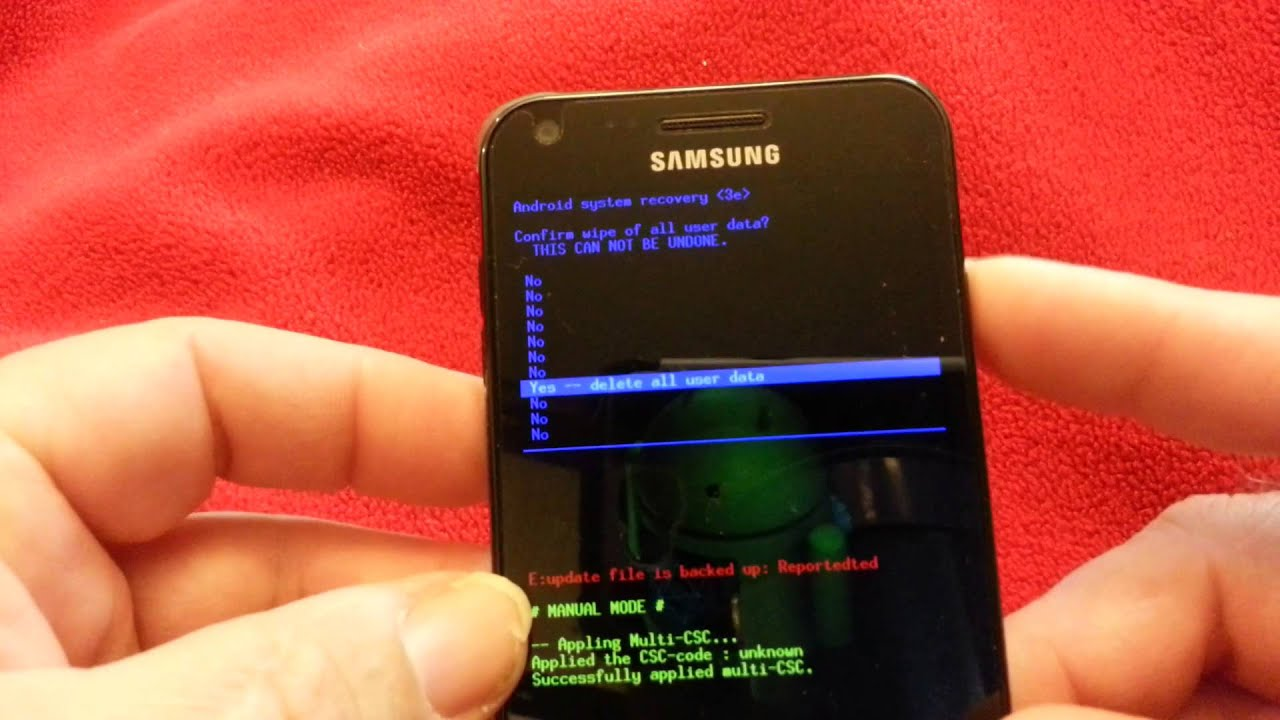 How to Reset a Samsung Galaxy S2: 8 Steps (with Pictures)