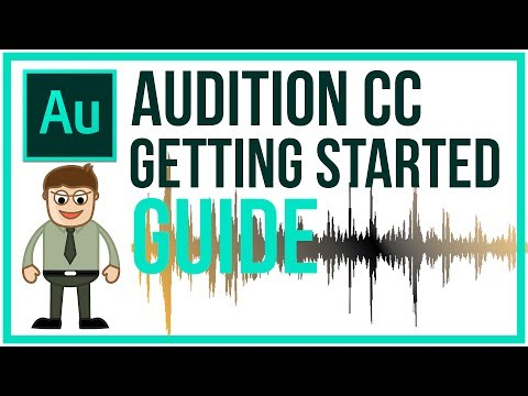 Adobe Audition CC Full Tutorial  Getting Started Guide