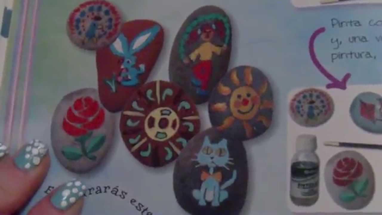 Como pintar piedras facil youtube for Pintura para pintar piedras