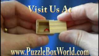 Smallest Japanese Muku Secret Puzzle Box Ever!
