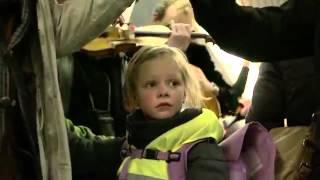 Позитивный флешмоб в метро Копенгагена