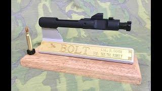 全鋼製槍機裝飾座(T91/65、M16/AR15)