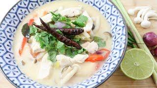 Thai Chicken Coconut Soup ต้มข่าไก่ - Episode 200