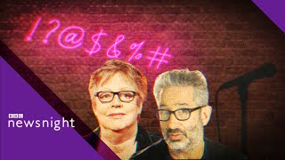 David Baddiel on Jo Brand acid joke, the limits of comedy and free speech - BBC Newsnight