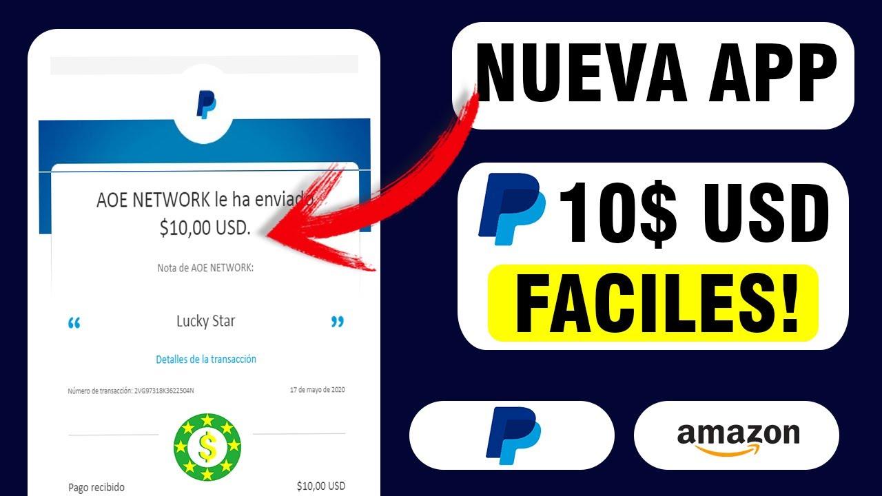 Nueva App Para Ganar Dinero Paypal 10 Dolares Gratis Gana Dinero Paypal Y Amazon Facil Youtube