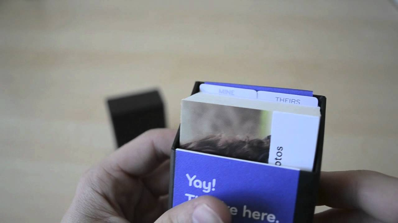 Moo Visitenkarten Unboxing Und Review Caphotos De