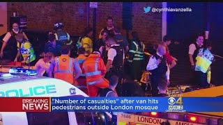 One Arrested In London After Van Hits Multiple Pedestrians