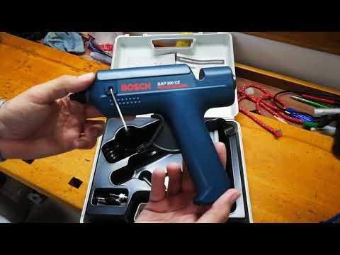 Видео обзор: Пистолет клеевой BOSCH GKP 200 CE