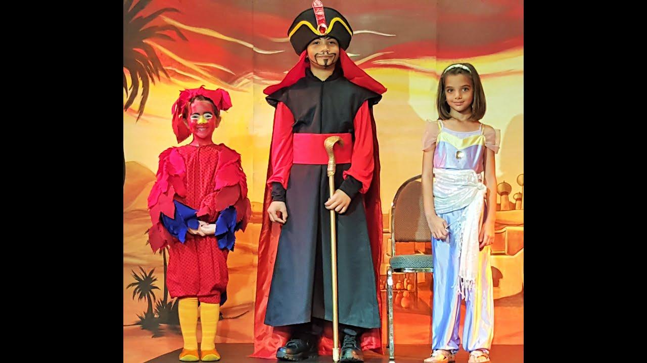 jadus as jafar in disneys kids musical script aladdin elementary ages 5 9