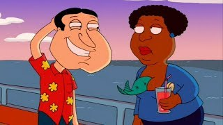 Quagmire has a surprise for Loretta