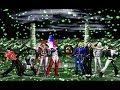 MUGEN KOF Orochi Iori Team Vs. Ash Team