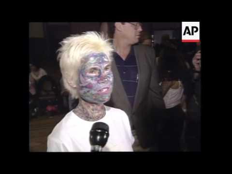 USA: HOUSTON: HUMAN ART ON DISPLAY AT TATTOO CONVENTION