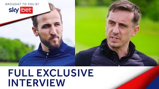 Harry Kane shares all with Gary Neville - his future, England career & more