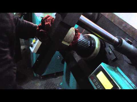 Coil inserting machine wire inserted process :Sinovance MJR-5D