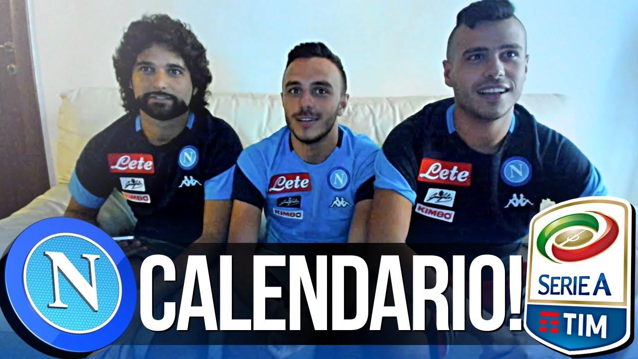 Calendario Seria A Tim.Reazione Calendario Serie A 2017 18