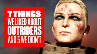 7 Things We Liked About Outriders And 5 Things We Didn't - OUTRIDERS GAMEPLAY
