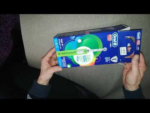 Електрична зубна щітка ORAL-B BRAUN Junior (4210201202370)