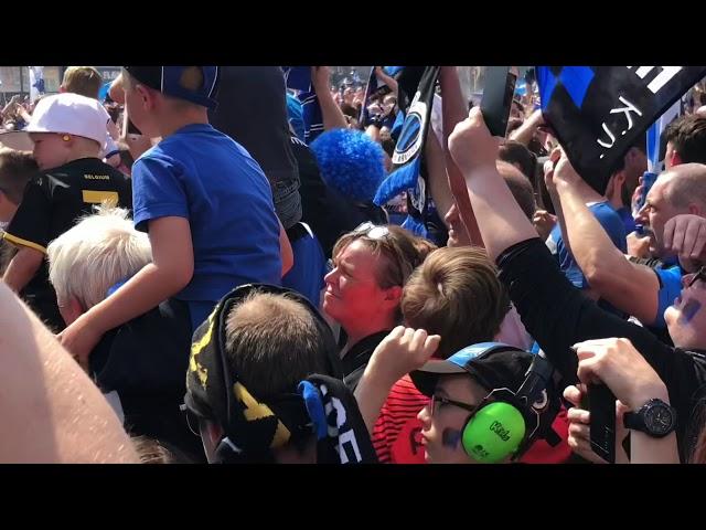 Kampioenefeest 2018 club Brugge
