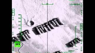 Уничтожение нефтяной инфраструктуры ИГ самолетами ВКС РФ