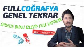 Tyt Ygs Coğrafya Full Genel Tekrar - Bütün Konu Anlatımları Tek videoda